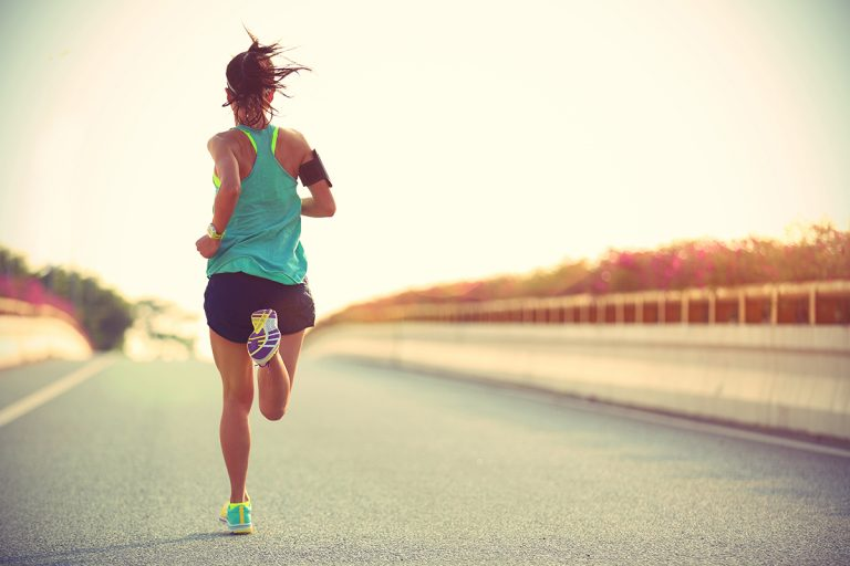 perdere peso con la corsa